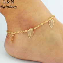 Rainbery 2017 DIY Anklet Chain with Small Butterfly Hamsa Fatima Hand Anklet Beach Foot Jewelry Ankle Bracelets For Women