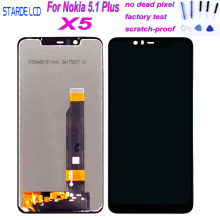 100% Tested for Nokia 5.1 Plus LCD Display Touch Screen 5.86