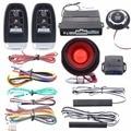 Universal version Easyguard PKE car alarm system remote engine start stop push button start stop arm disarm shock alarm