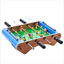 Wooden Table Football Table Toy Parent-child Toys for Adult Mini Air Hockey Indoor Outdoor Table Top Game Set for Teens Adults table top air hockey white color electric powered 32inch indoor recreational air hocky table kids air hockey table