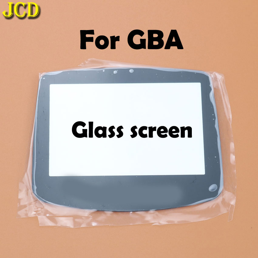 Image 4 - JCD 1Pcs Plastic Glass Screen Lens cover For GBA Screen Glass Lens for Gameboy Advance Lens Protector W/ Adhensive-in Replacement Parts & Accessories from Consumer Electronics