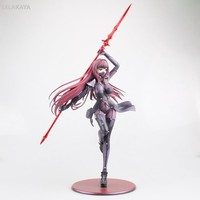 28cm Anime Action Figure Fate/Grand Order Servant Scathach Lancer Long Lance Ver 1/7 Fate Stay Night Sexy Model Collection Doll