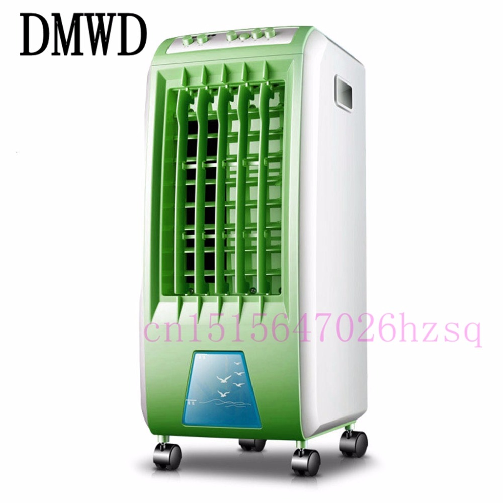 DMWD  Cooling Air-conditioning Fan Portable Air Conditioner Refrigeration Filter Humidification portable 8 pin air fan