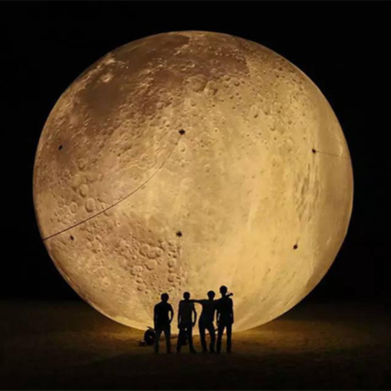 Color changing LED lighting Inflatable moon Inflatable Crescent moon stage decorative pa ...