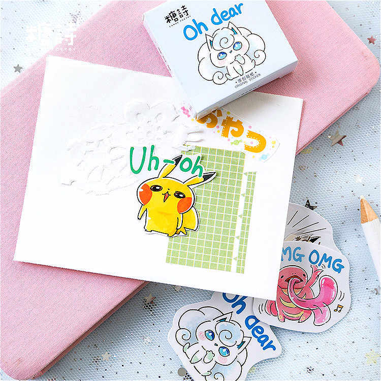 45 шт. Elfin Pets memo pad Kawaii канцелярские принадлежности креативные милые животные Липкие заметки школьные принадлежности бумажные наклейки