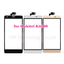 5.5″ TP for Oukitel K6000 Touch Screen Digitizer Front Glass Panel Sensor No LCD Display Phone Replace Part Free Shipping+Tools