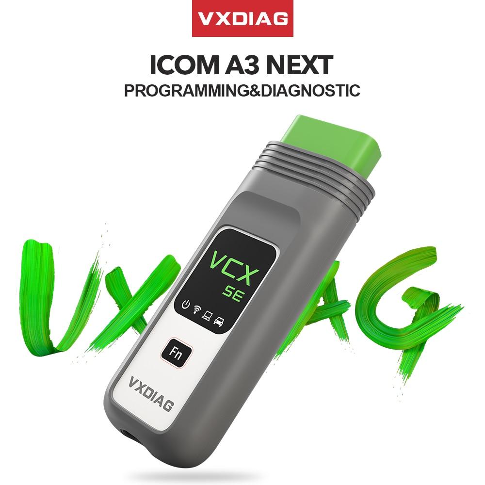 VXDIAG VCX SE adapté pour BMW ICOM A2 A3 suivant WIFI OBD2 Scanner voiture outil de Diagnostic ECU programmation codage en ligne