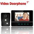 7-дюймовый TFT сенсорный экран цветной ЖК-видео домофон проводной видеодомофон 1 монитор дверной звонок Домофон Система