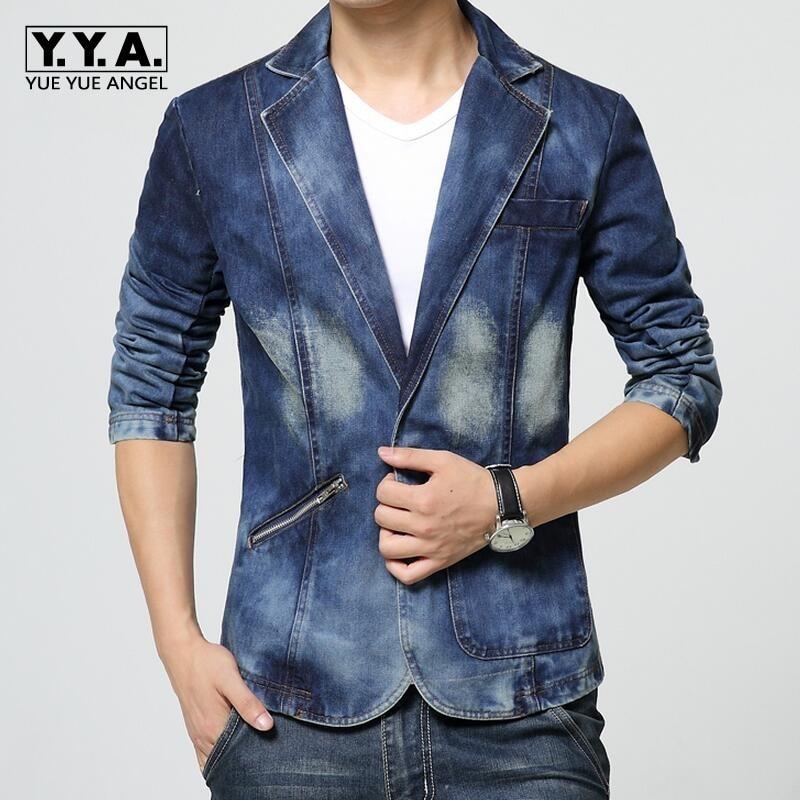 Online Get Cheap Blue Jean Suits for Men -Aliexpress.com | Alibaba ...