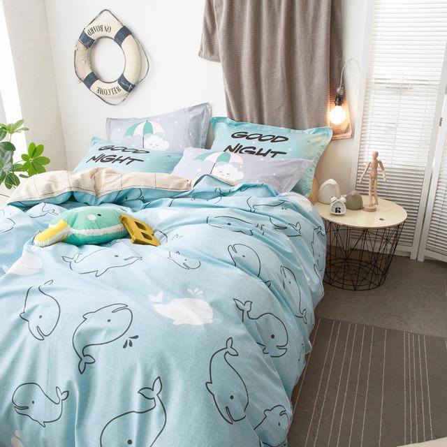 kids bedding sets. Svetanya Twin Queen Size Cartoon Bedlinen 100% Cotton Kids Bedding Sets Duvet Cover Set Baby N