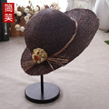 laughed in spring and summer sun shading cap Langya Hat Flower beach leisure all-match sun hat hat lady