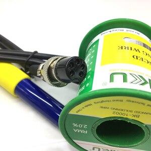 Image 2 - باكو الكهربائية سبيكة لحام عدة إعادة صياغة محطة مقبض ل 936 878L 601D