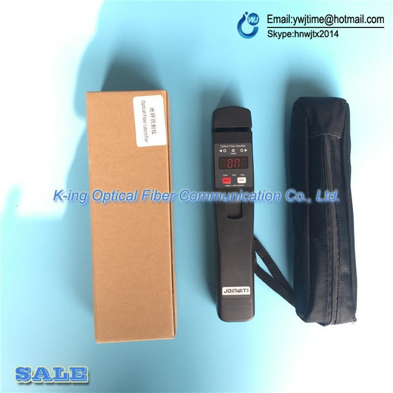 Livraison gratuite identificateur de Fiber optique JW3306D identificateur de Fiber optique en direct avec localisateur de défaut visuel 10 mw intégré - 3