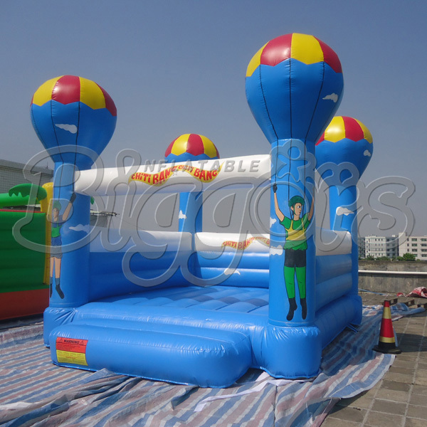 Good Quality PVC Inflatable Bouncer Bounce House Inflatable Toy For Sale 6 4 4m bounce house combo pool and slide used commercial bounce houses for sale