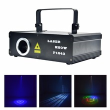 New 5 In 1 RGB 500mW 3D Beam Laser Program DMX Projector 13 CH Stage Lighting PRO DJ Show KTV Party Scanner Lights