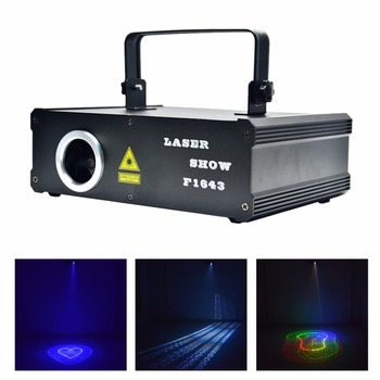 AUCD 2D 3D Animation Patterns Kaleidoscope 500mW RGB Projector Laser DMX Lights Beam Scan PRO DJ Party Show Stage Lighting DG5F5