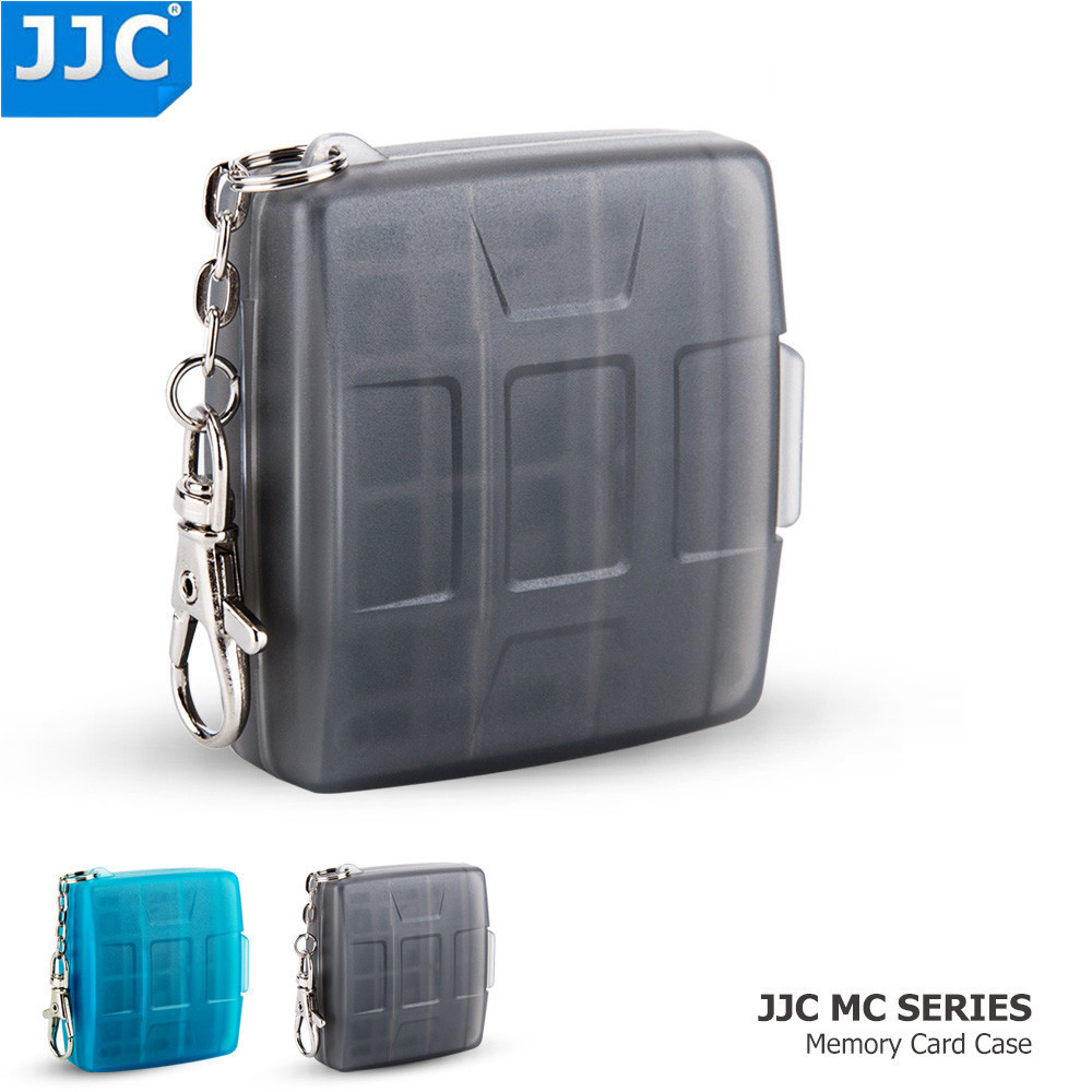 Us 6 64 5 Off Jjc Water Resistant Holder Storage Camera Memory Card Bag Sd Msd 2 Sim Micro Nano Cards Case In Video Bags From