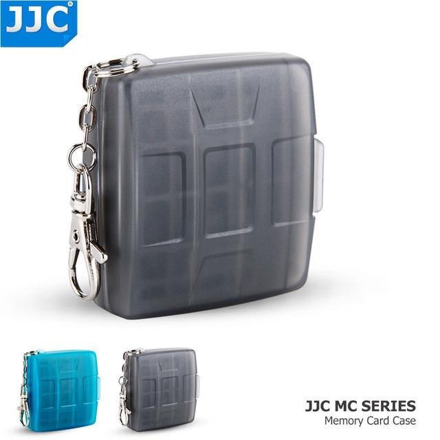 JJC Water resistant Holder Storage Camera Memory Card Bag SD MSD 2 SIM Micro SIM Nano SIM Cards Case