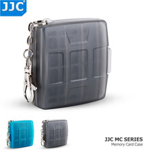 JJC водонепроницаемый держатель для камеры, сумка для карты памяти SD MSD 2 SIM Micro SIM Nano чехол для SIM карт