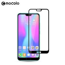 2018 Mocolo 9H 2.5D zakrzywione szkło hartowane dla Huawei Honor 10 pełna pokrywa szkło ochronne dla Honor 10 ekran ochronny