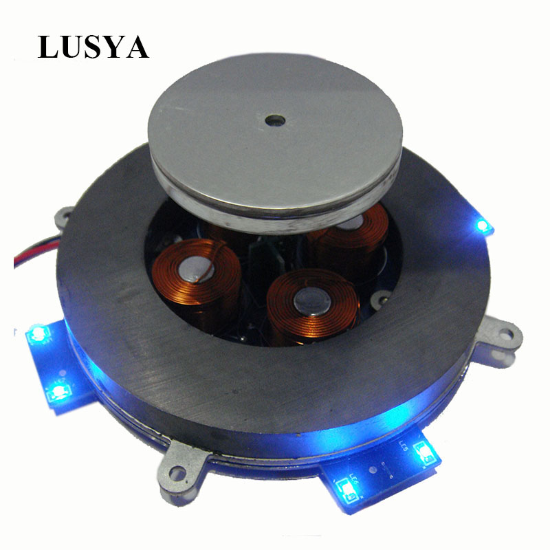 Lusya Load-bearing Weight 500g Magnetic Levitation Module Core Analog Circuit Magnetic Suspension With LED Lights 12V 2A D4-007