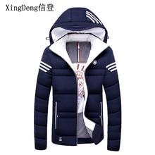 XingDeng Brand Casual Mens Jacket Winter Coats male Thick Jackets Warm