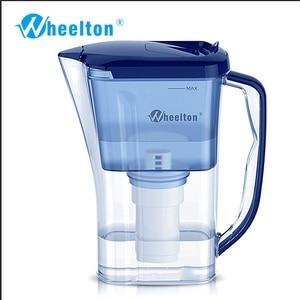 Image 2 - Wheelton бытовой и пикника двойной фильтр чайник и прикрепить дополнительные 3 картридж фильтр для воды очиститель воды Brita Бесплатная доставка