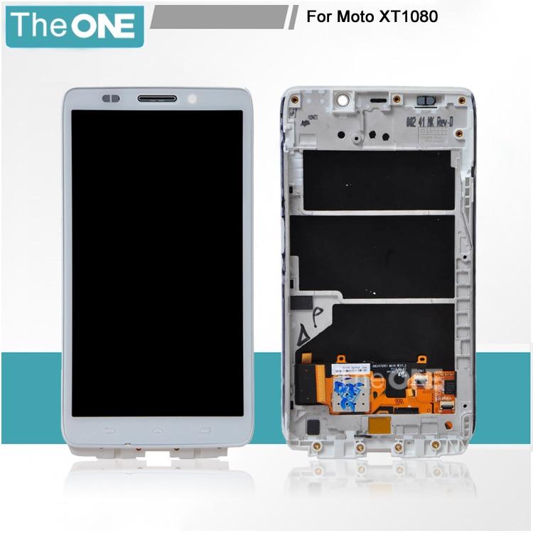 White/Black LCD Display For Moto XT1080 Touch Screen Digitizer For Motorola Moto XT1080 Free Shipping