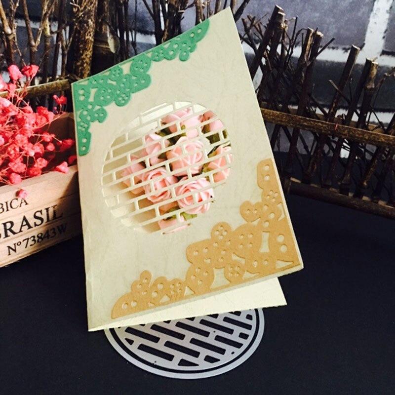Craft WAll Metal Cutting dies Stencil Scrapbooking Photo Album Card Paper Embossing Craft DIY
