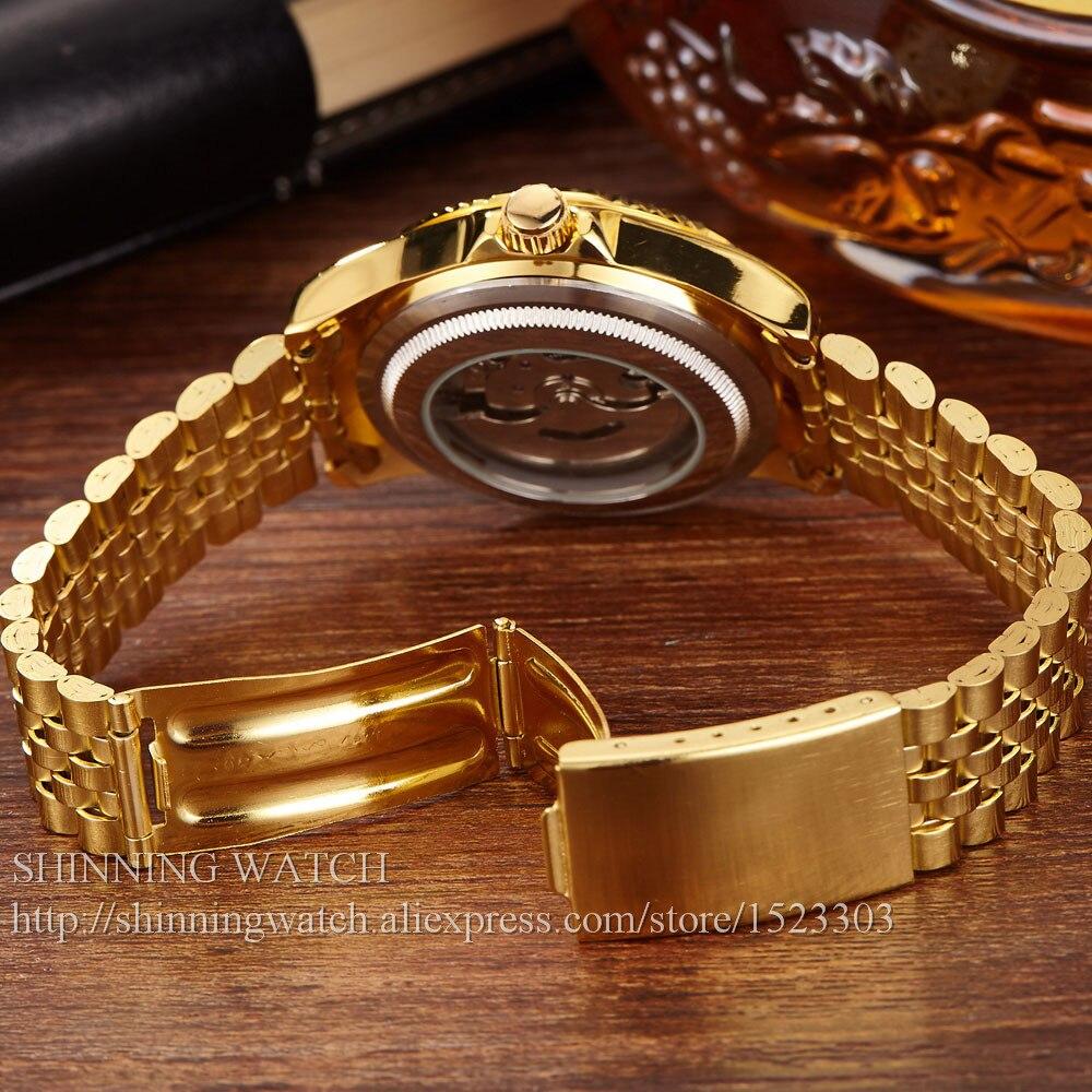 ძვირადღირებული ოქროს - მამაკაცის საათები - ფოტო 5