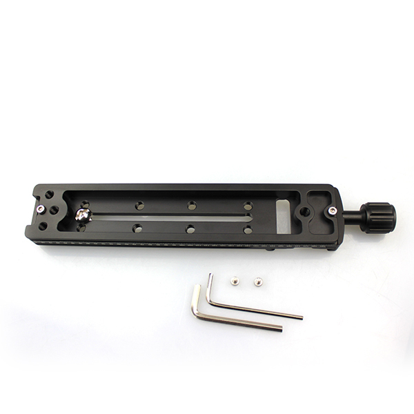 FITTEST Multi-Purpose FNR-170 170mm Rail Nodal Slider with Arca Swiss Compatible Quick Release Clamp