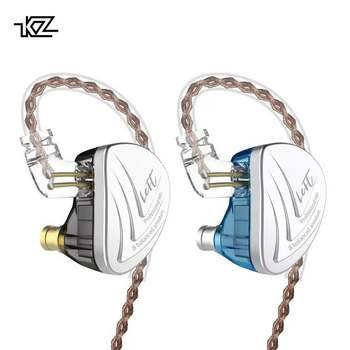 KZ AS16 In Ear Earphone Balanced Armature Headset 8 Units High Sound Quality Monitor Level Noise Reduction Fever HiFi Headphones surveillance camera