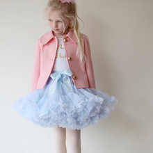 0-10Y Children Kid Baby Girl Skirt Multilayer Tulle Party Dance Cake Tutu Skirts