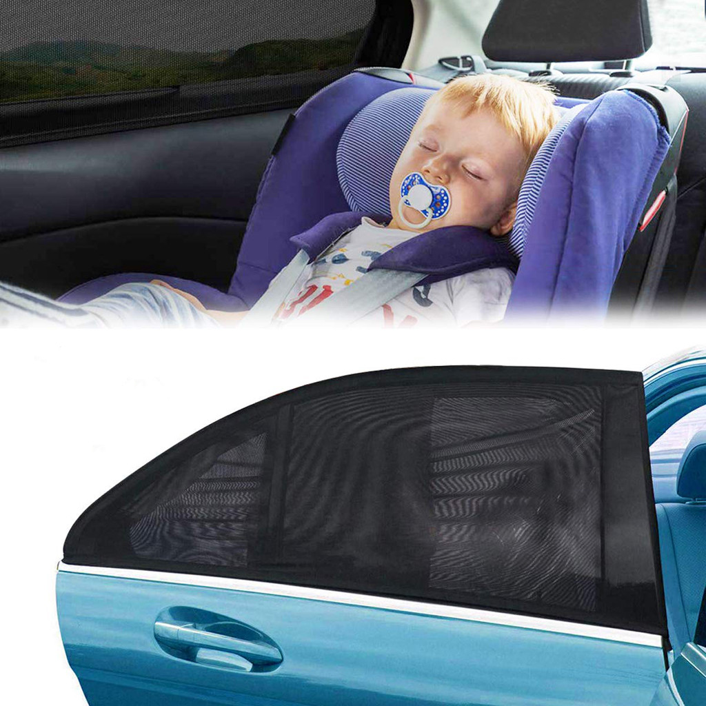 Universal 2PC Kid Toddler Car Window Sunscreen Rear Infant Window UV Protection Dropshipping Baby Protection Accessories #L15