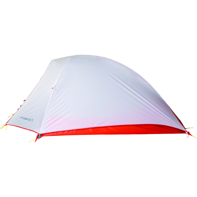 HIMAGET 1.15KG Ultralight Tent 20D Silicone Fabric 1 Person Double Layers Aluminum Rod Silicone coating Camping Tent 4 Season цена
