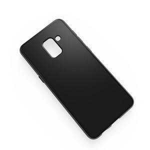 Image 3 - Fundas Samsung Galaxy A6 2018 מקרה רך סיליקון TPU מט כיסוי עבור Samsung A6 בתוספת A6 + A6 + 2018 טלפון מקרה
