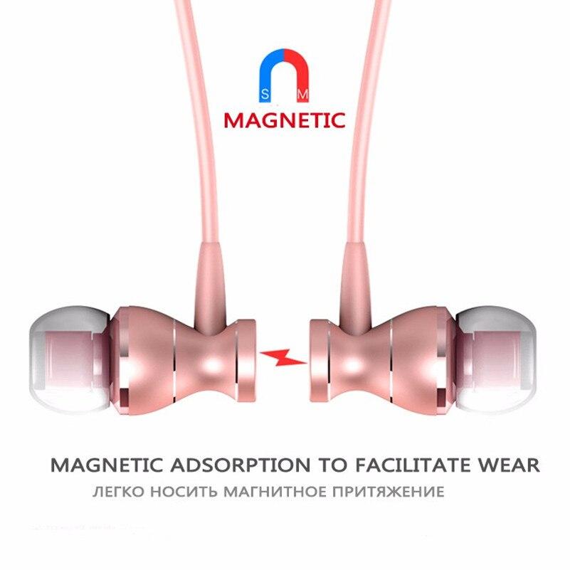 Metal Earphone Magnetic Sport Running Headphone for Assistant AS-503 Target fone de ouvido