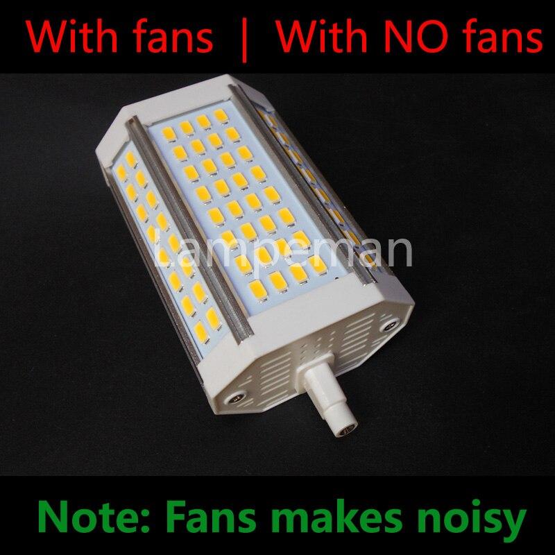 R7S led 118mm dimmable j78 j118 30 W 25 W 20 W 10 w réel puissance ampoule led r7s Ampoule R7S lumière R7S lampe remplacer halogène AC110-240V