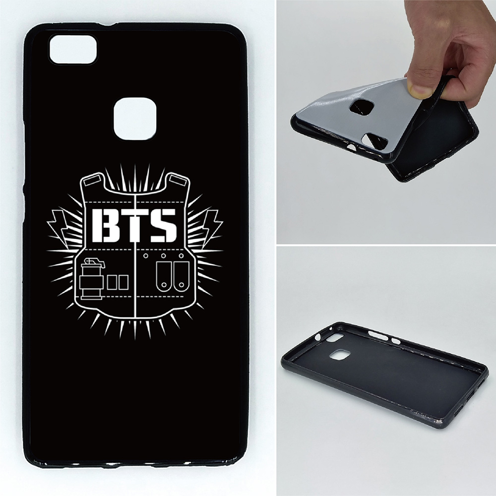 Bts boy Phone Cases Soft TPU For Huawei P9 Lite Mate 9 Pro ...