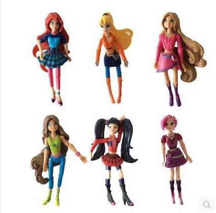 Winx 3.75 Action Dolls Fairy Concer Mini joint dolls winx club умка обучающий планшет winx club 60 программ умка