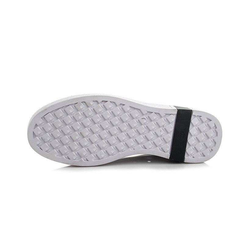 De Chaussures Sauvage Nouvelles Noir 2018 Dame Occasionnelles Chaussures Vent Dentelle rouge Cuir En Plates Mode Petit xfvHIq