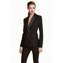 Womens Business Work Pant Suits Set Blazer Formal Slim OL El
