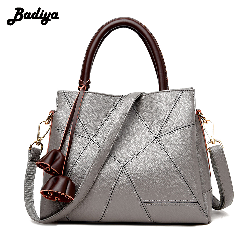 Genuine Leather Elegant Women Shoulder Bag Casual Totes Handbag Ladies Fashion Large Capacity Female Luxury Bolsa Feminina Sac luxury genuine leather bag fashion brand designer women handbag cowhide leather shoulder composite bag casual totes