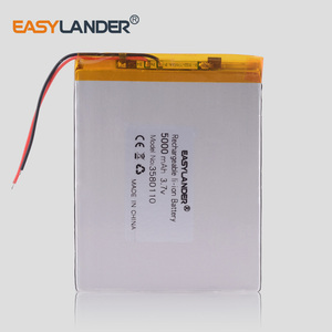 3580110 5000MAH lithium battery 3.7V The tablet battery 8 inches N83, N86 A86 A85 Jumper EZBOOK 3 Pro(China)