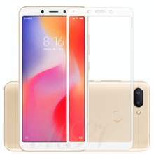 9H Full Cover Tempered Glass For Xiaomi Mi 8 SE A2 6X A1 5X Redmi S2 6A 6 Pro 5A 5 Plus Screen Protector Glass Film 100% Glass(China)