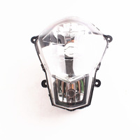 Front Headlight Head Lamp Assembly For KTM Duke 200 2012 2013 Moto Accessories Clear
