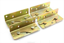 free shipping furniture hinge Thickened Cold Rolled Steel bed fitting invisible bed hinge furniture hardware bed parts household