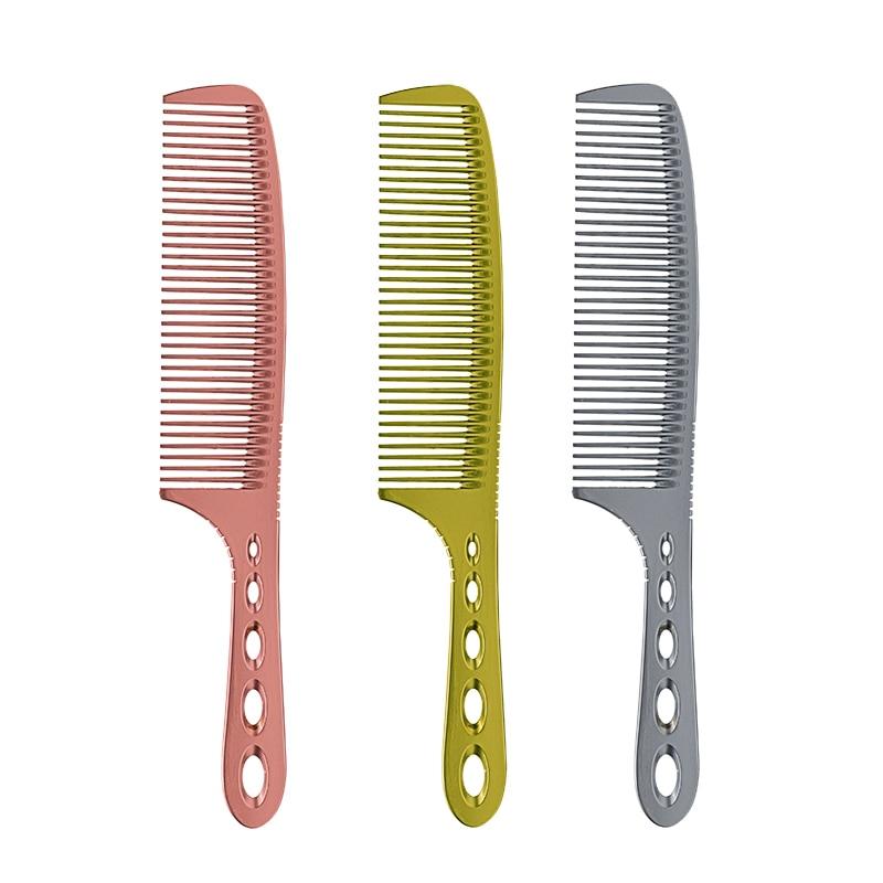 Coiffure Professionnelle Peigne En Titane 3 Couleurs Cheveux Barber - Soin des cheveux et coiffage - Photo 3