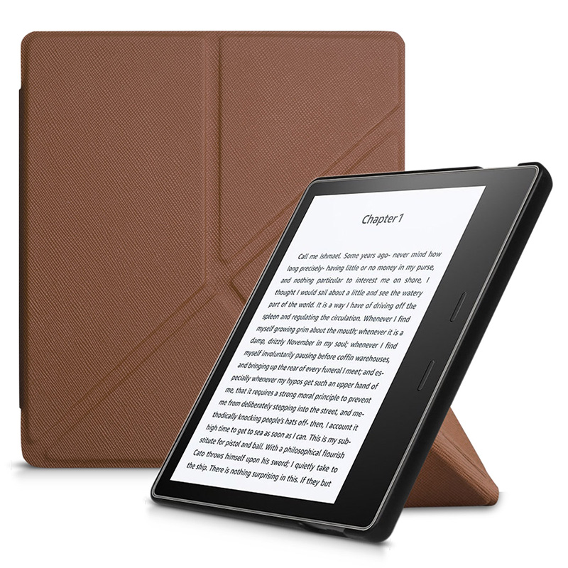 цена Slim Fashion Cover for 2017 Amazon Kindle Oasis 2 Ereader Intelligent PU Leather Case for New Kindle Oasis 7.0 +screen Protector онлайн в 2017 году