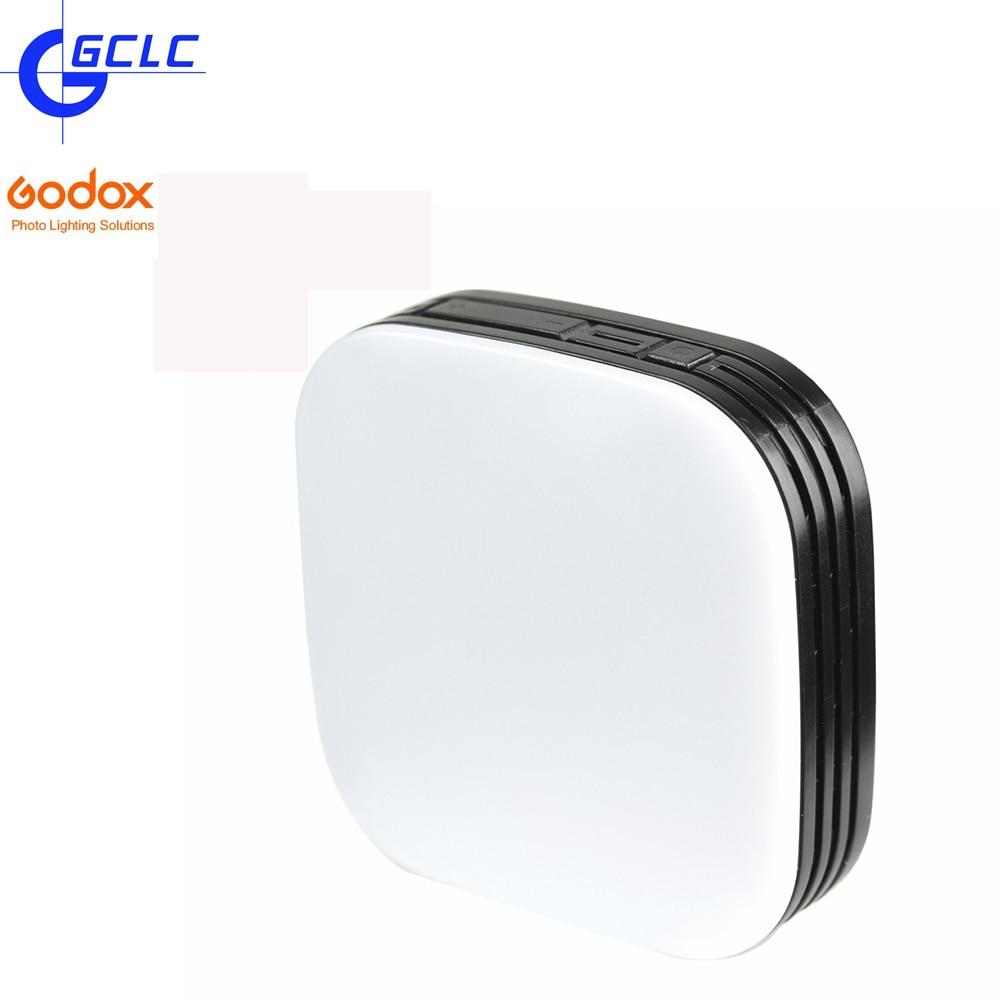 GODOX Portable Selfie LED Mini Square Fill Light Adjustable Light Camera <font><b>Photography</b></font> Tablet Selfie for iPhone Android <font><b>Cell</b></font> <font><b>Phone</b></font>